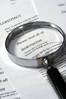 امور حقوقی و قراردادها